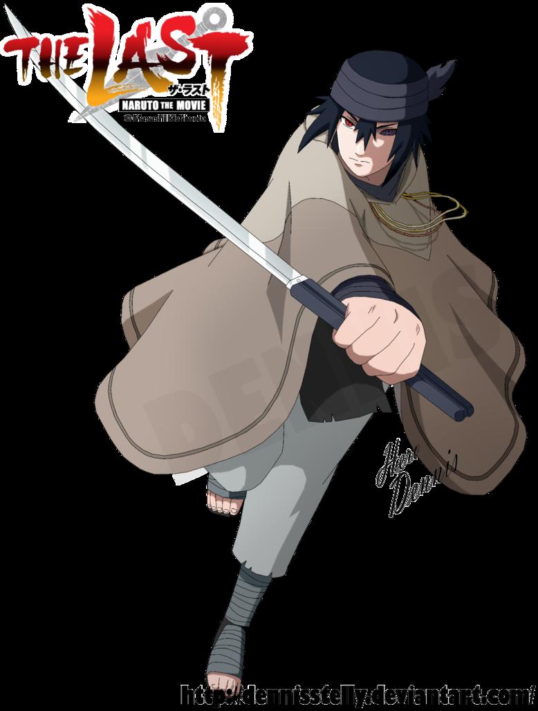 sasuke uchiha the last movie by dennisstelly naruto pinterest
