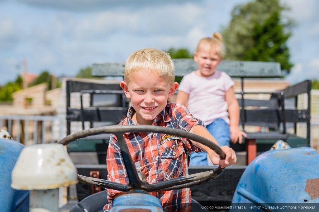 Bonte Belevenis - Tijdens de ponykampdagen bij Pony en Kinderboerderij De Bonte Belevenis kunnen kinderen van 6 tot 12 jaar meedoen met allerlei leuke activiteiten, waaronder ponyrijden in het avonturenpark, poetsen, knuffelen, vlechten etc., maar ook spelletjes met en op de pony, een tocht met de huifkar en een echte medaille bakken! (Oog op Assendelft / Pascal Fielmich) #oog #assendelft #zaanstad #fielmich