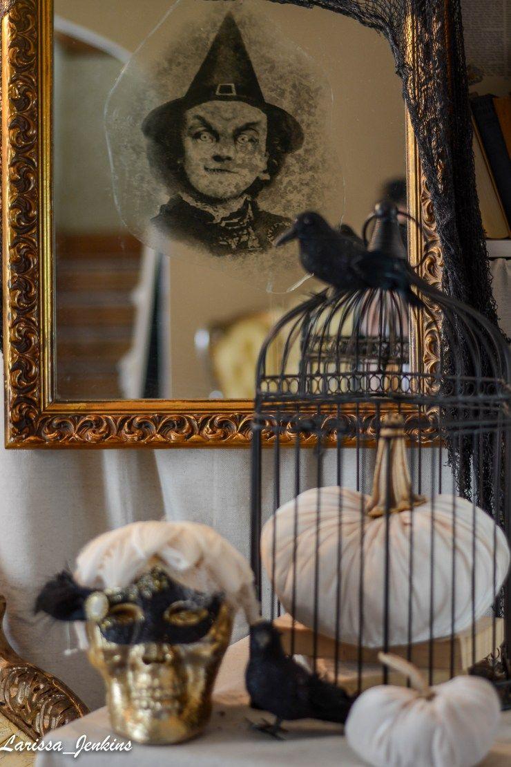 Elegant Halloween Decor Spooky Mirror Halloween Pinterest - Elegant Halloween Decor