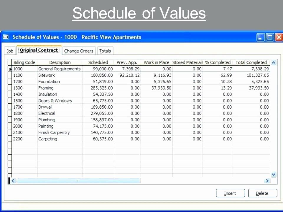 Excel Construction Schedule Template Best Of Subcontractor Schedule Values Template Schedule Template Label Templates Spreadsheet Template Business
