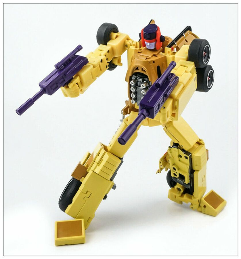 IN STOCK Transformers toy X-Transbots MX-16 Overheat Alloy Edition G1 DragStrip