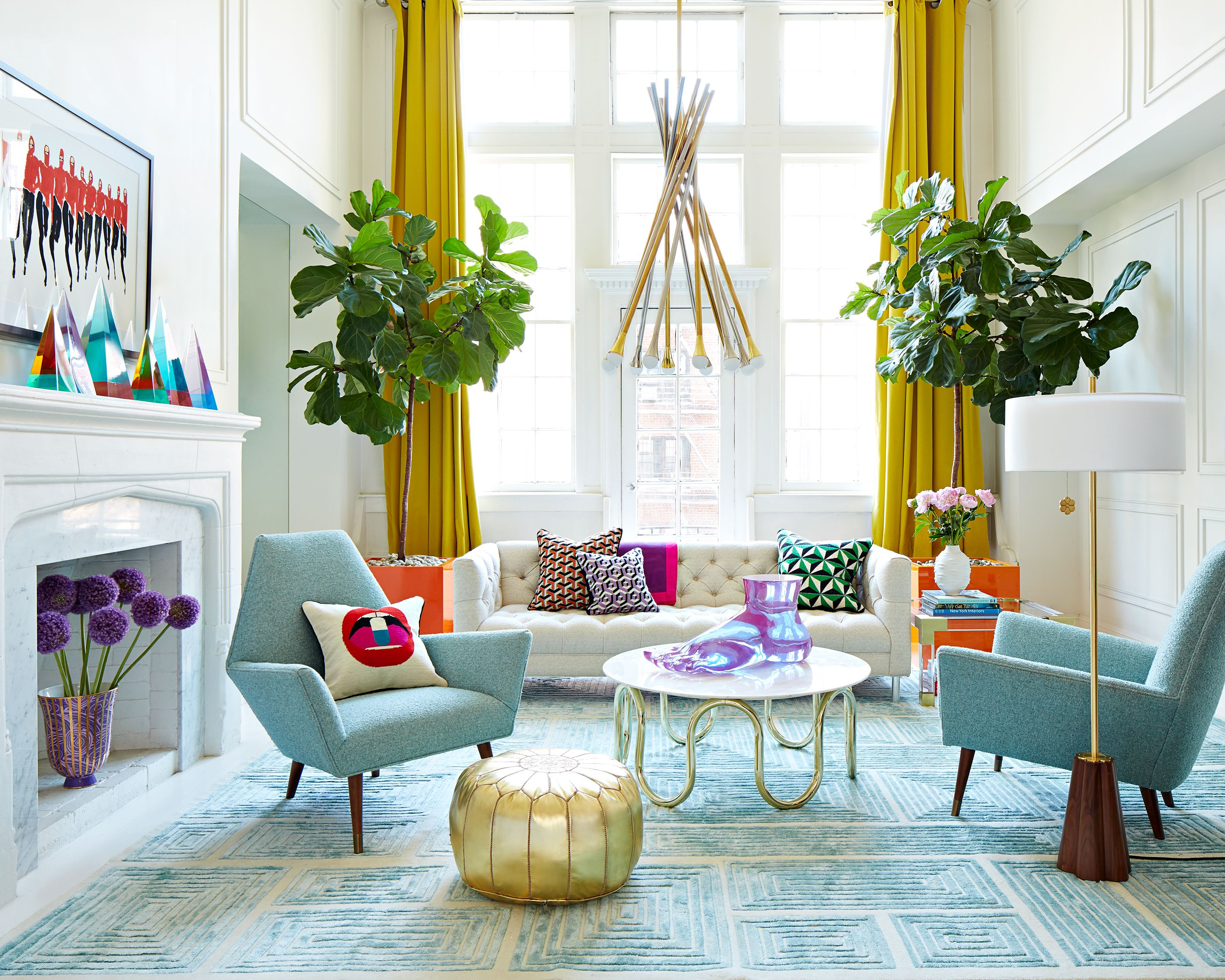 Jonathan Adler Creates Modern American Glamour In This Fab Living Room From  Their Fall 2016 Catalog