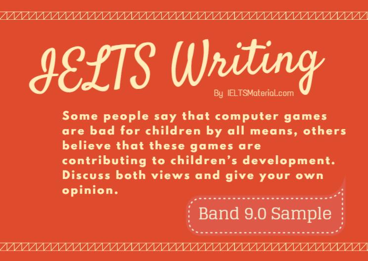 004 writing band 9 essay children