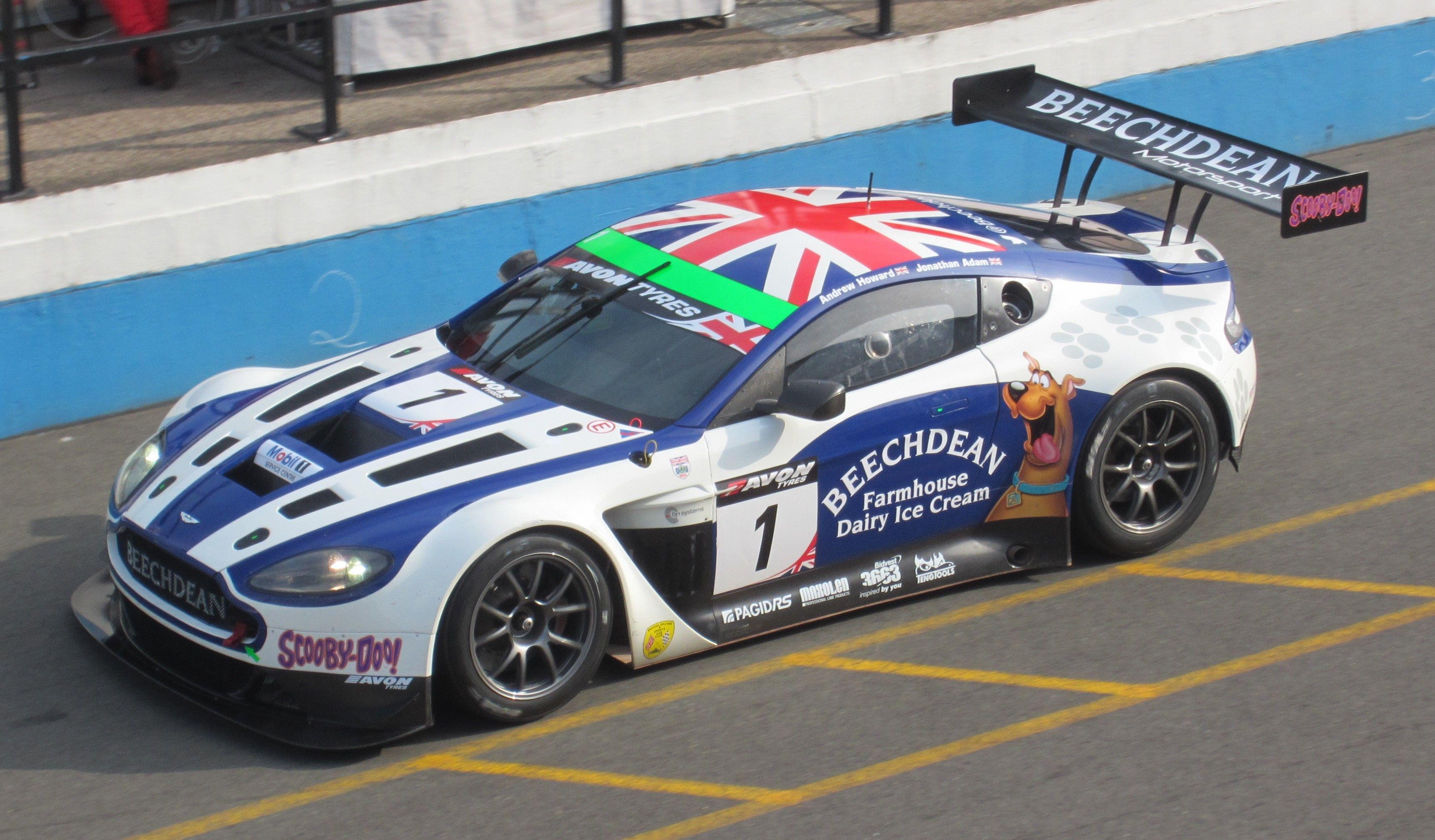 Aston Martin Vantage GT3 marcketing cars Pinterest