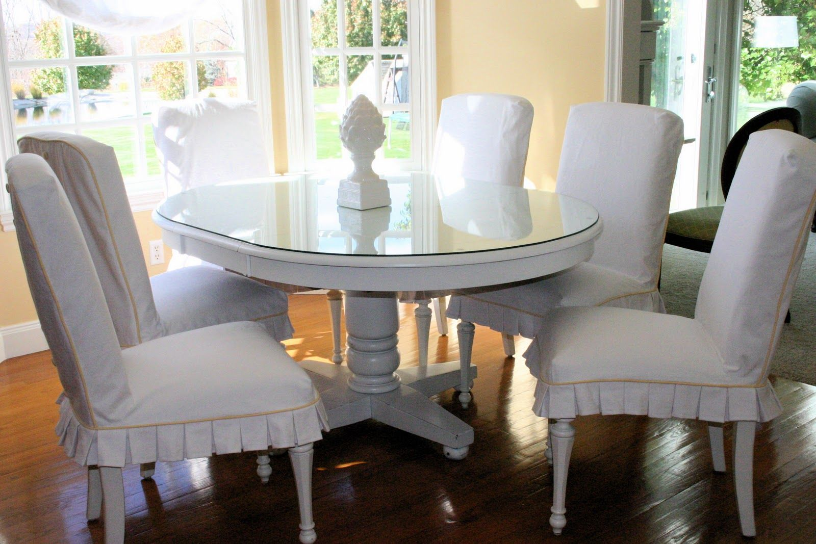 Painted White Distressed Kitchen Tables Distressed White