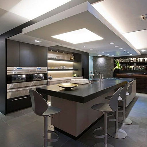 This Application Is Very Inspiring Home Interior Design Small Room Capacity To Deco Modern Kitchen Design Modern Kitchen Island Design Elegant Kitchen Design