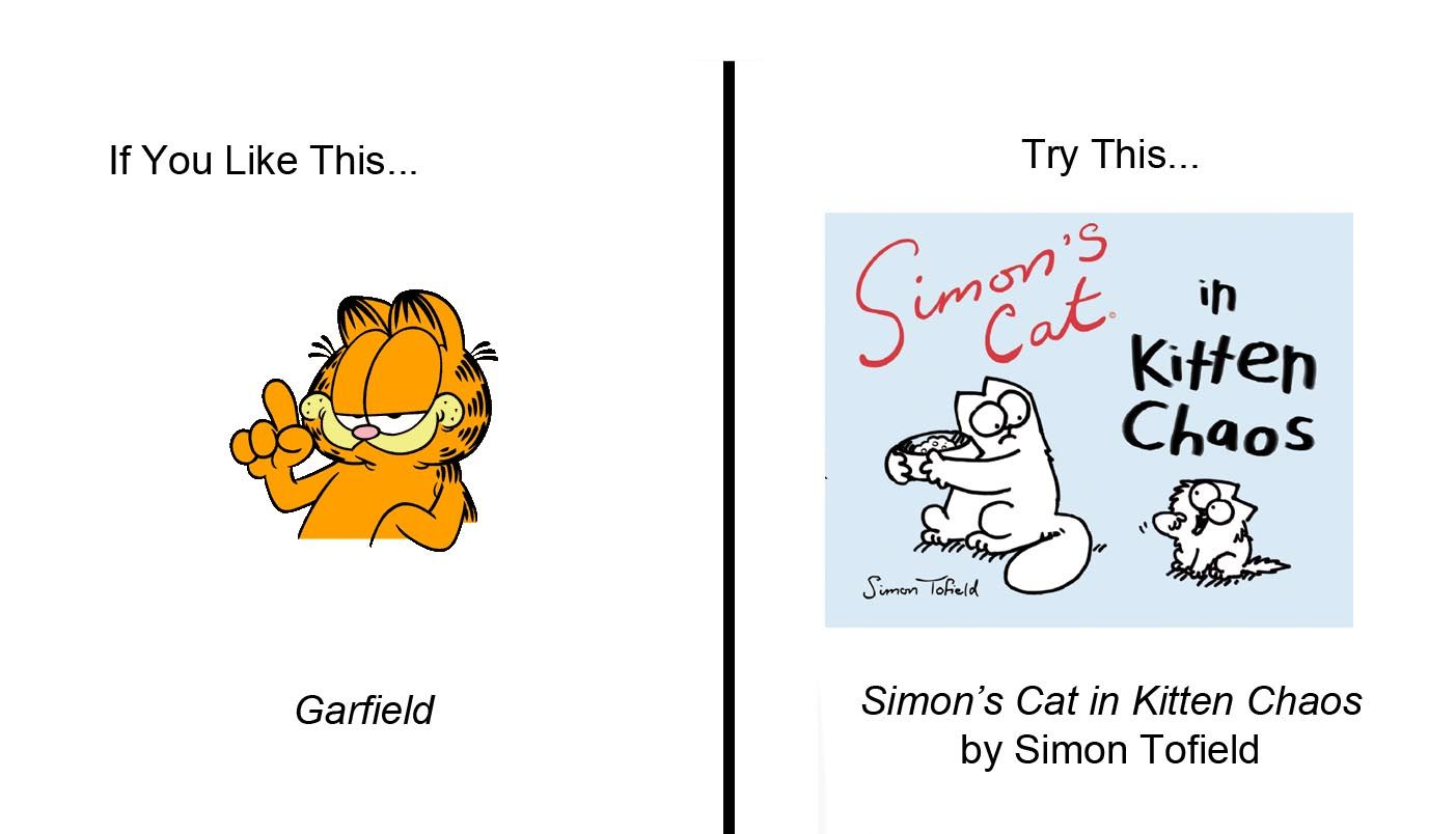 If You Like Garfield Try Simon S Cat In Kitten Chaos By Simon Tofield Simons Cat Garfield Kitten