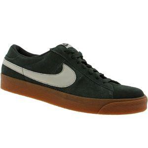 nike blazer basso sb (fern / pietra grigio) scarpe 318960 300