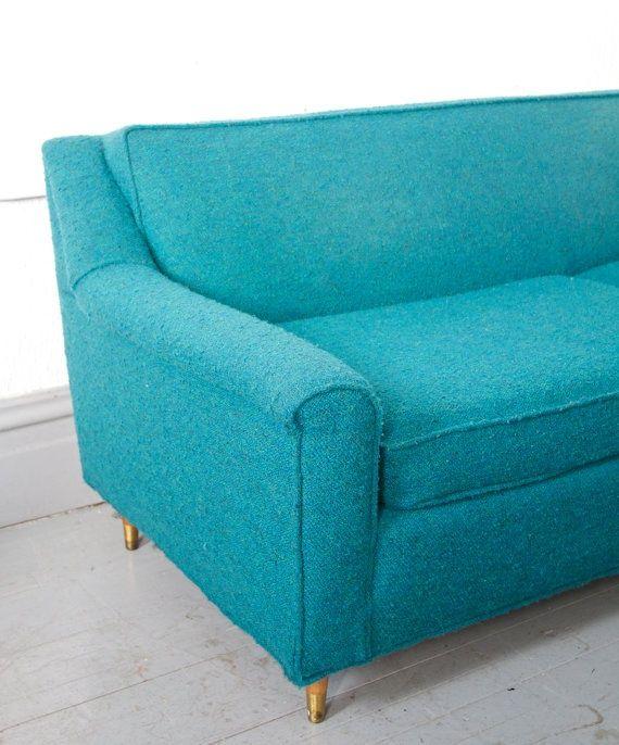 Mid Century Modern Sofa Mid Century Modern Teal