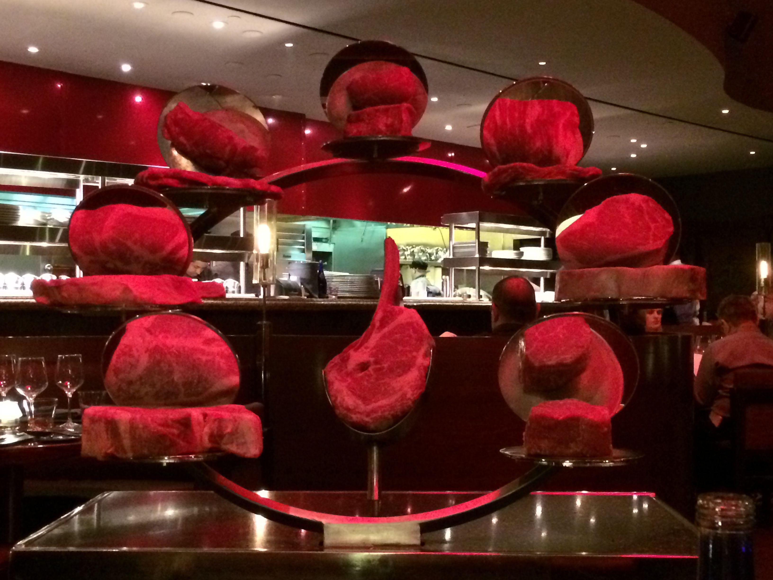 Wheel Of Steak Selection At Gordon Ramsay Steakhouse In Las Vegas Gordon Ramsay Ramsay Steakhouse