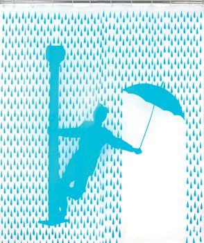 Singing in the Rain Shower Curtain! http://www.fredflare.com/TOP-SELLERS/Singin-in-the-Rain-Shower-Curtain/