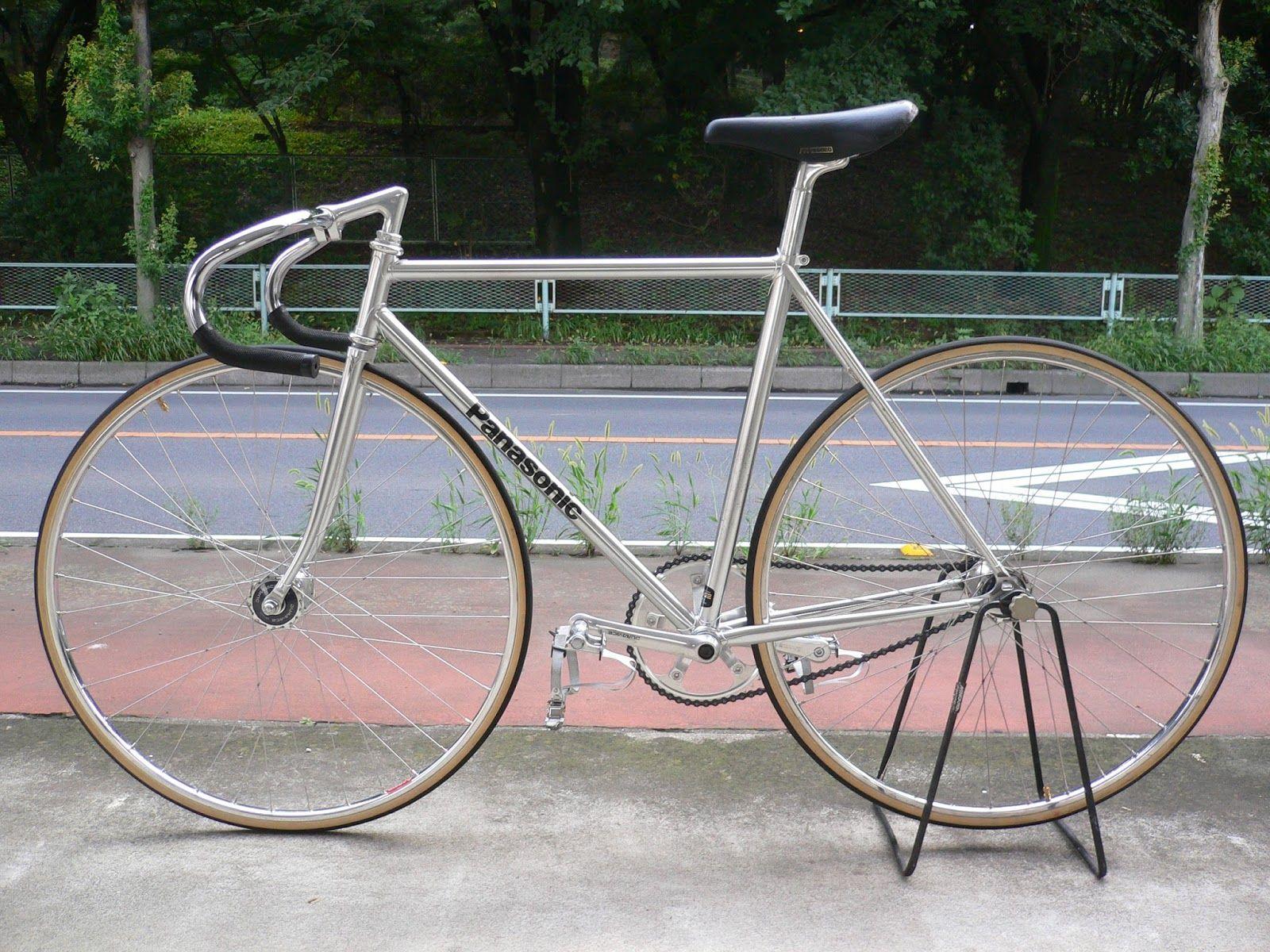 Njs Keirin Track Bike For Sell Panasonic Njs Keirin Bike