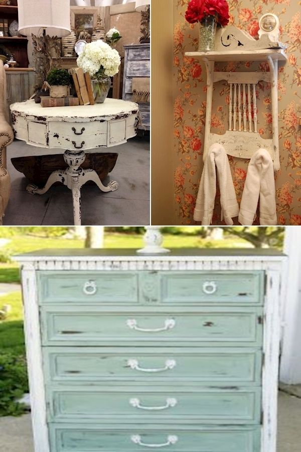 Chic Bedroom Furniture   Shabby Sheek Painting   Find ...