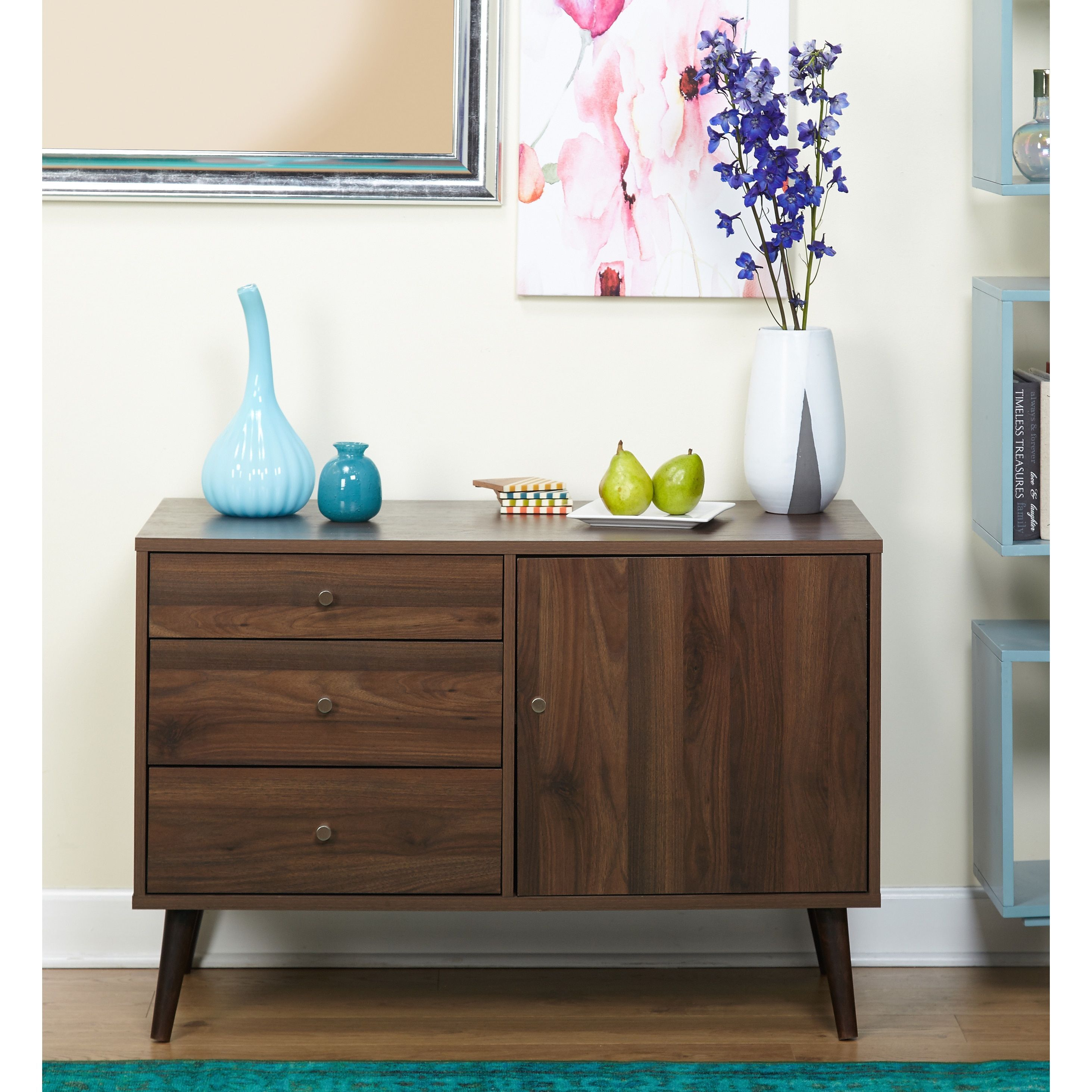 Living Room Furniture Free Shipping Simple Living Carroll Mid Century Buffet By Simple Living