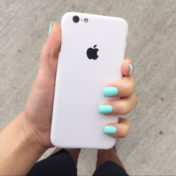 6swhite Silvers: White Apple Logo IPhone 6/6s Phone Case NWT
