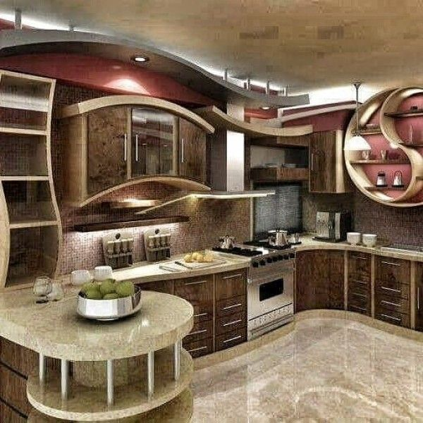Lovely 25 Unusual Kitchens That Will Inspire Your Next Makeover | Kitchen Design,  Kitchens And Diy Patio
