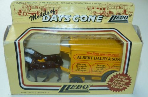 Lledo Days Gone Albert Daley & Son - from the Minder collection