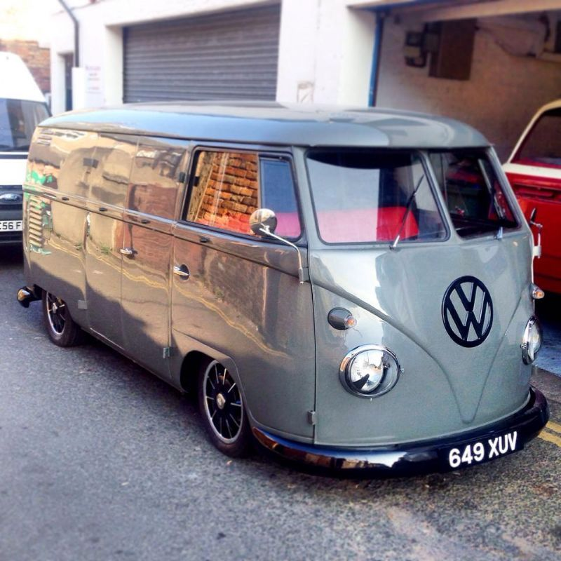 amazing and lovely 1960 splitscreen vw panel van for sale. Black Bedroom Furniture Sets. Home Design Ideas