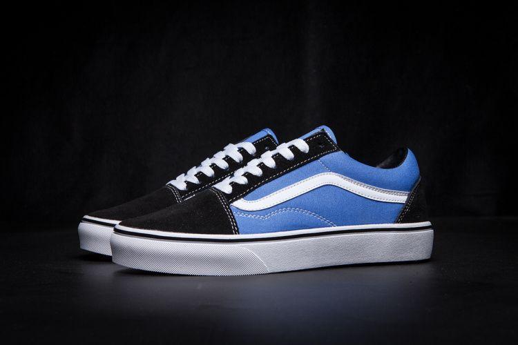 87d79f4f74580b Vans 50th Anniversary Classic Black Blue Low Help Men   Women Shoes Old  Skool 36-44  35239098  -  60.00   Vans Shop