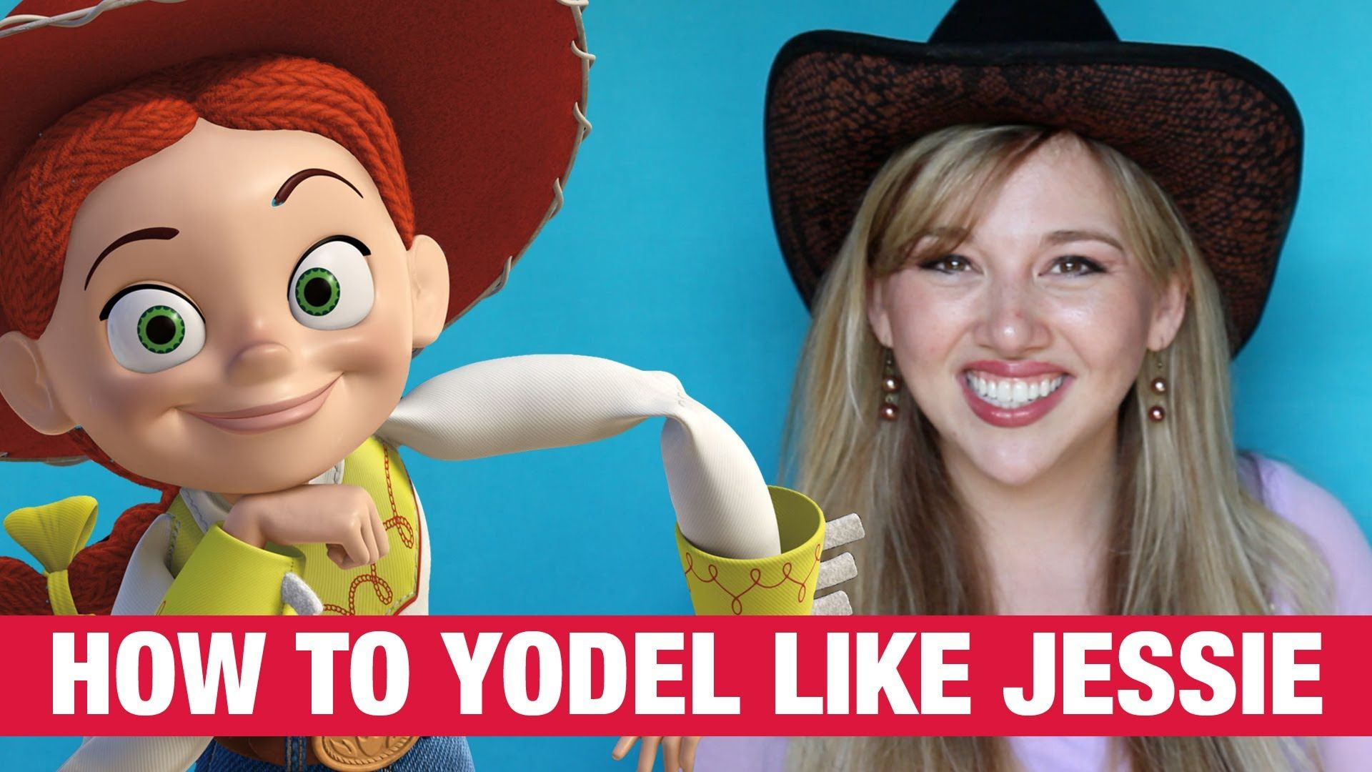How to Yodel like Jessie from Toy Story Rotoscopers