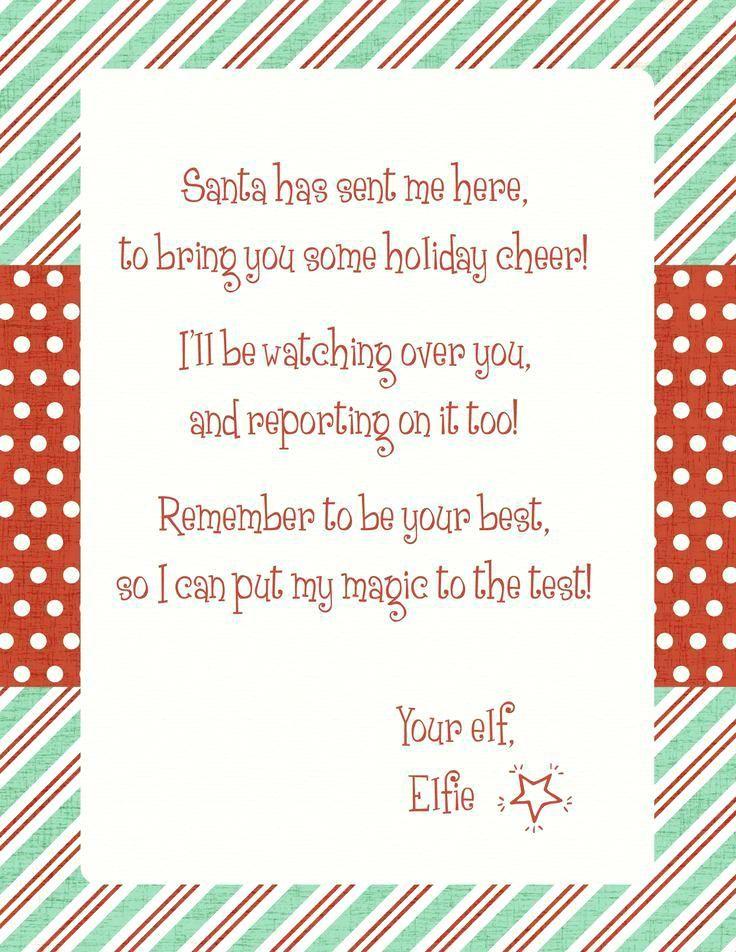 elf on the shelf letter template elf on shelf letter
