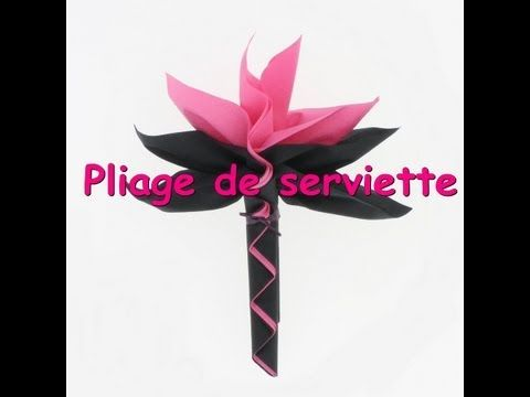 Tuto Pliage De Serviette Palmier Youtube Pliage Serviette Papier Pliage Serviette Pliage Serviette Fleur