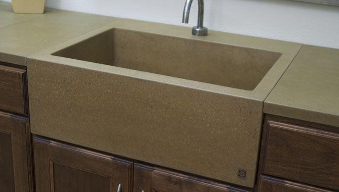 Concrete Farm Sinks Concrete Kitchen Sinks Concrete