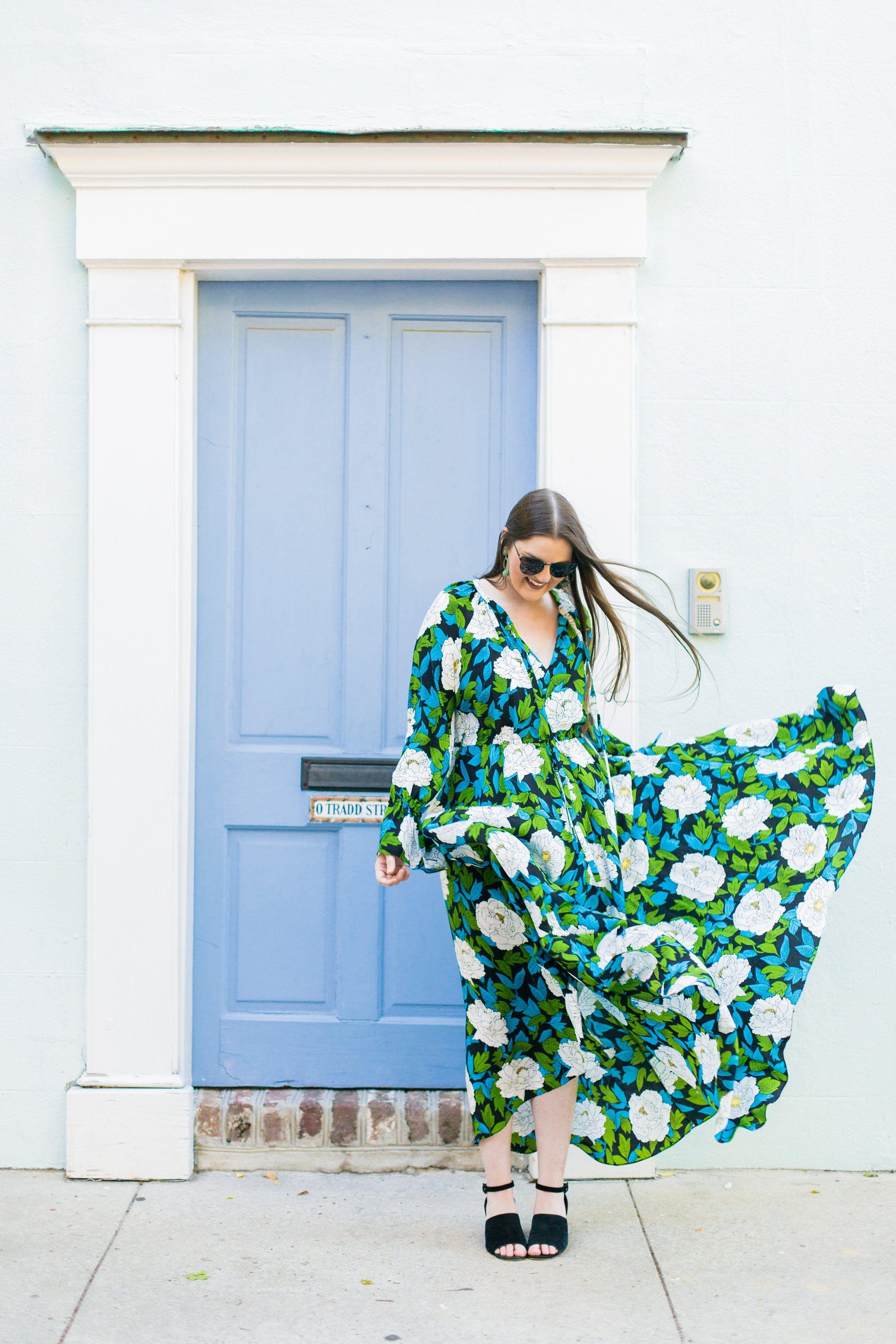 Floral statement maxi dress dvf maxi dress summer wedding guest