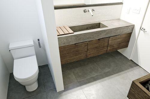 Concrete Sinks For The Bathroom Concrete Bathroom Concrete Sink Modern Homes For Sale