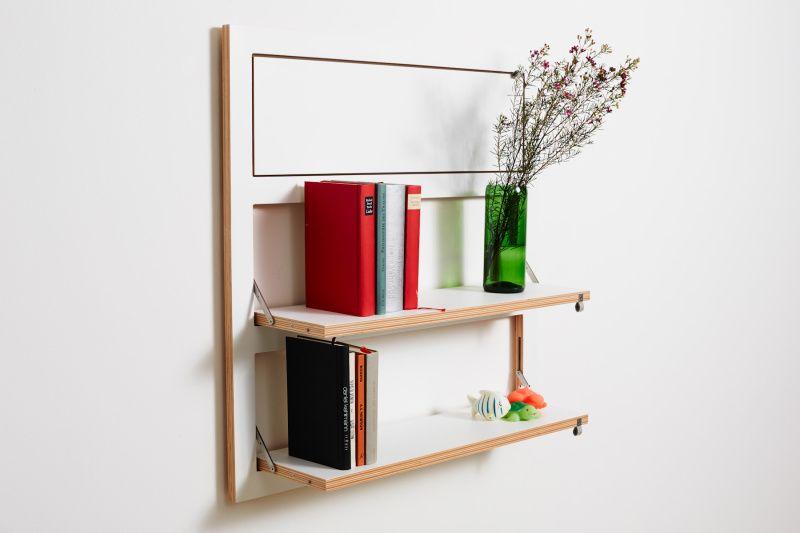 Fläpps 3 Shelves White by AMBIVALENZ