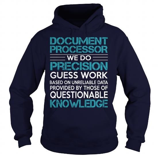 Awesome Tee For Document Processor T-Shirts, Hoodies (36.99$ ==► Order Shirts Now!)