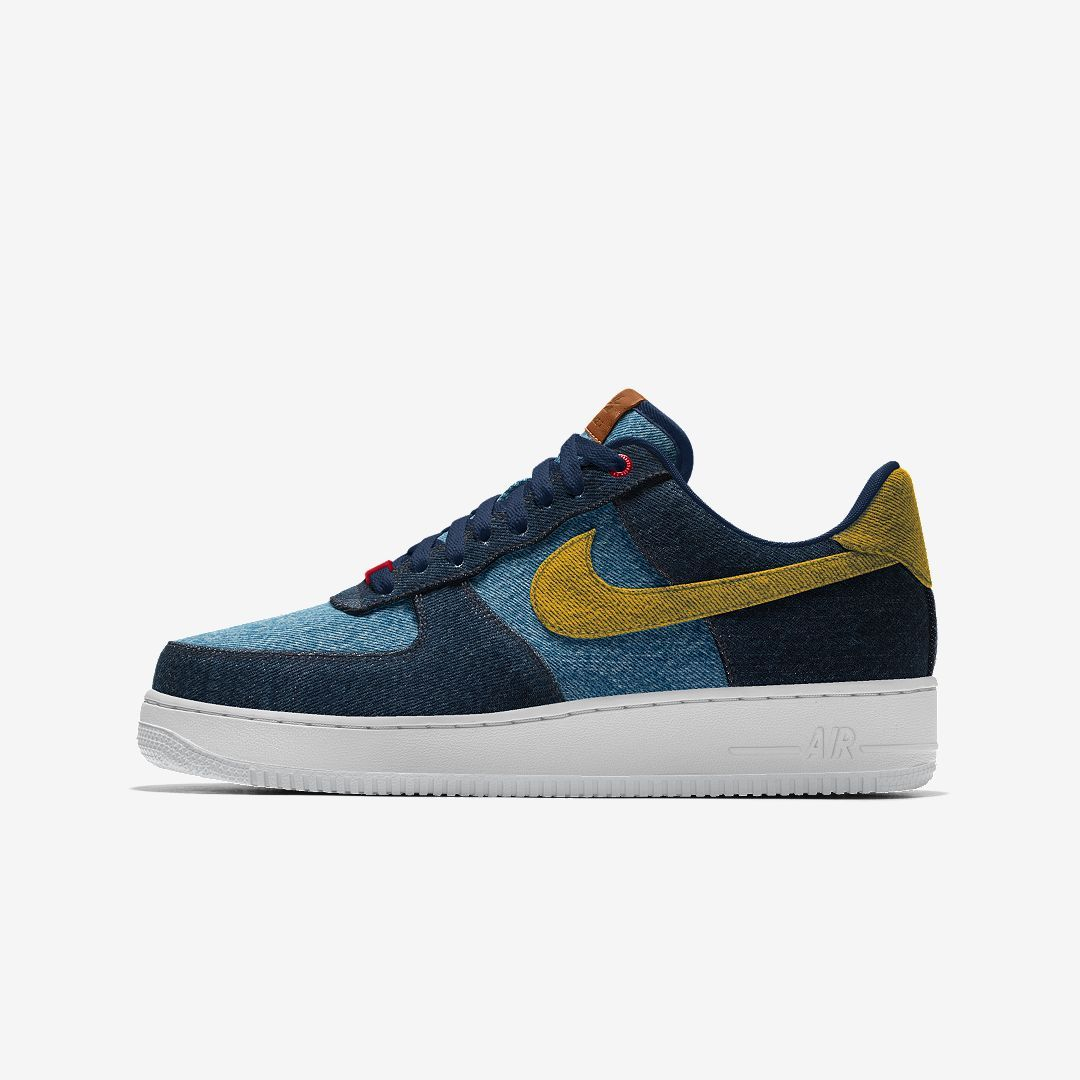 Nike Air Force 1 Low Levi's By You Custom Shoe (Multi Color