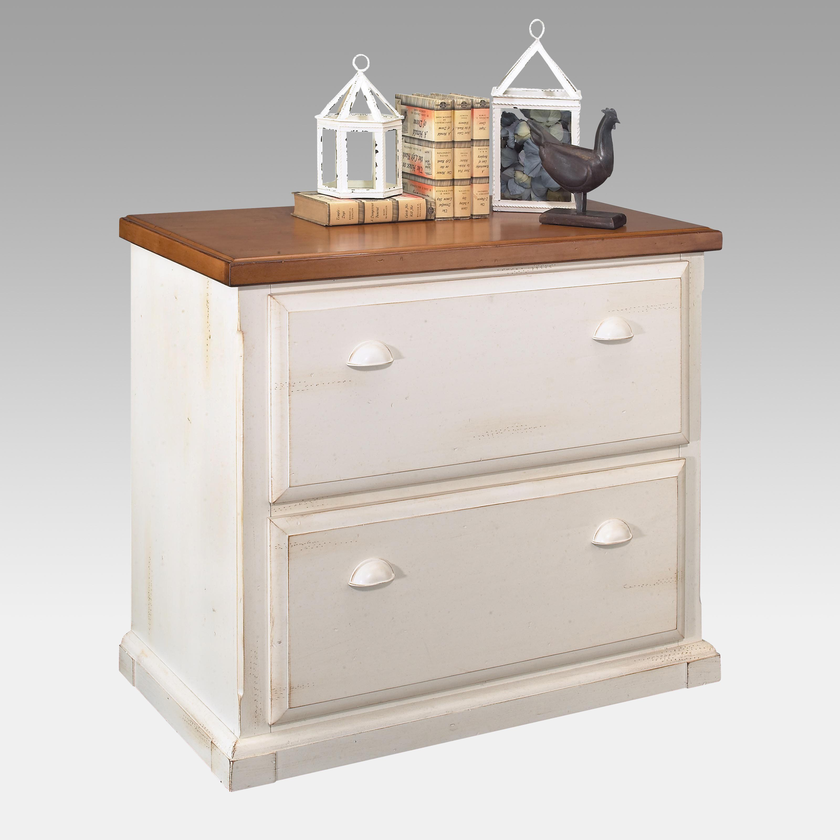 Southampton 2 Drawer Lateral Filing Cabinet By Kathy Ireland   White $479.99