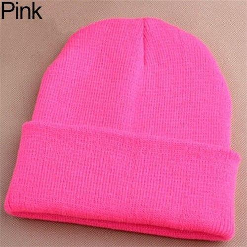 a89b0c96730 Fashion Men Women Beanie Knit Ski Cap Hip-Hop Winter Warm Elastic Wool Yarn  Cuff Hat For Men Women