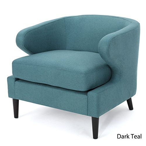 Dark Teal Accent Chair Patio Covers Near Me Nuage Fabric Living Room Furniture