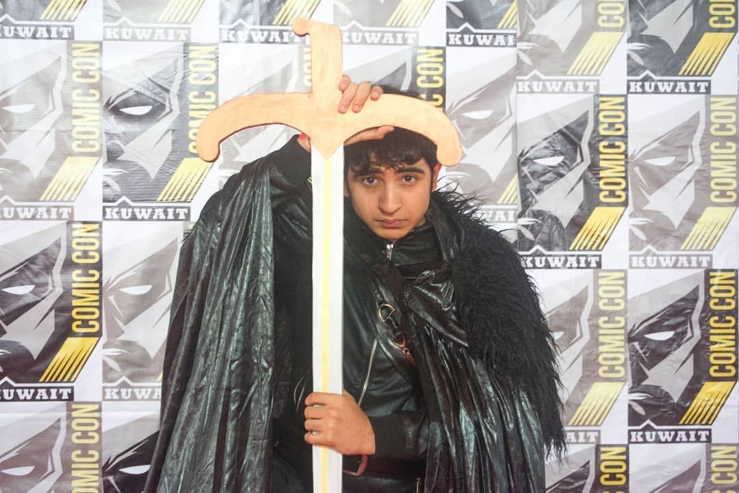 #comiccon2018 #comicconkuwait2018 #cosplay #كوسبلي #canong9x nice cosplay
