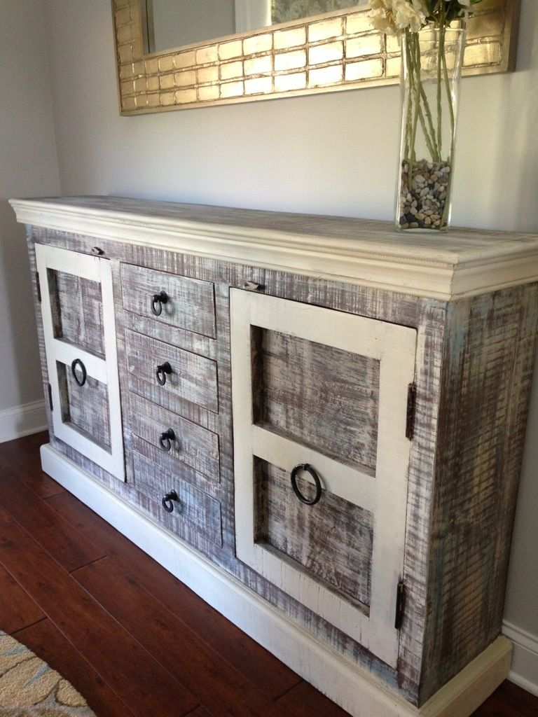 country gray buffet farm fresh vintage finds upcycling m bel pinterest upcycling m bel. Black Bedroom Furniture Sets. Home Design Ideas