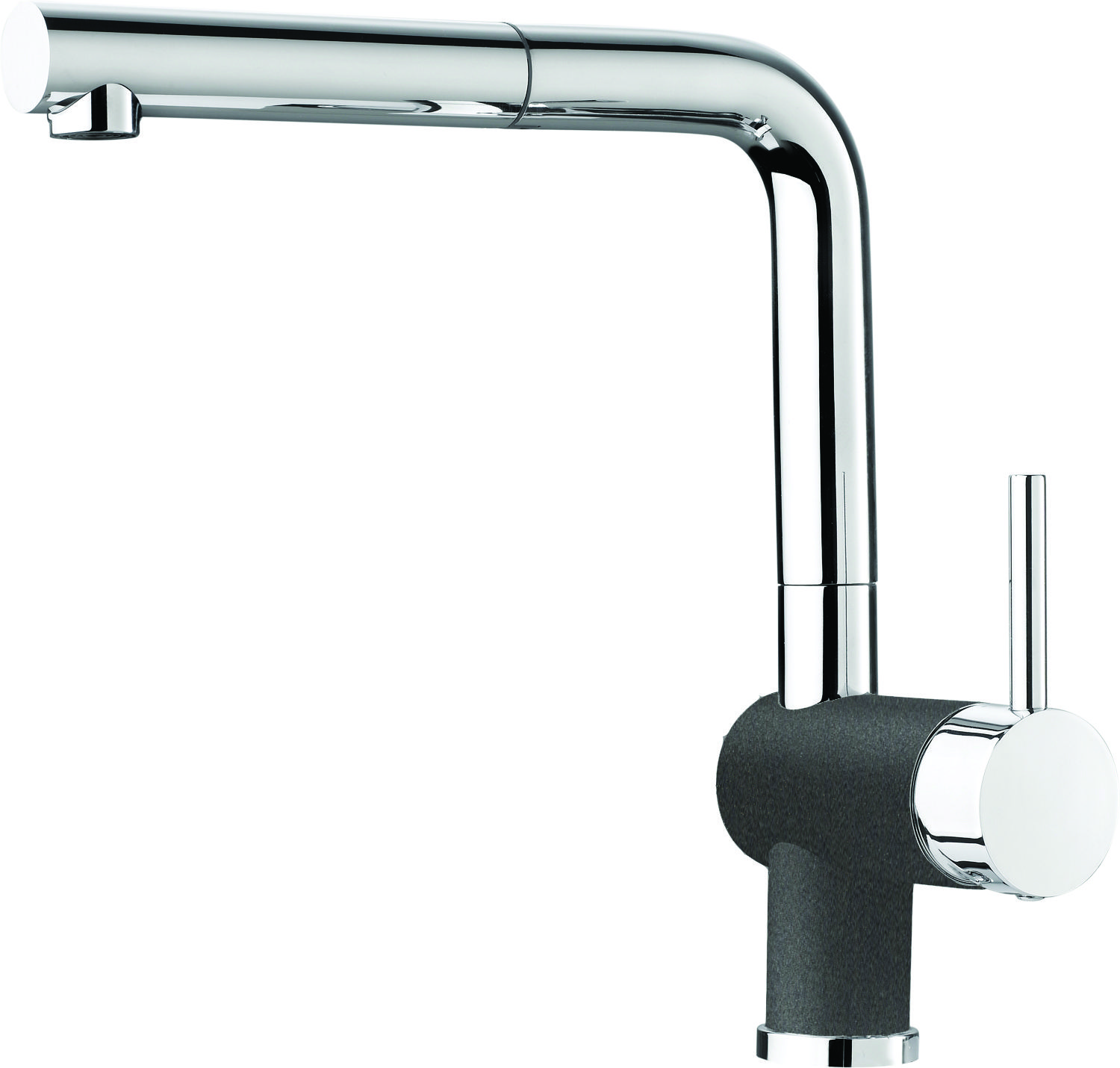Blanco Canada :: Faucets :: BLANCO POSH PULL-OUT CINDER/CHROME ...