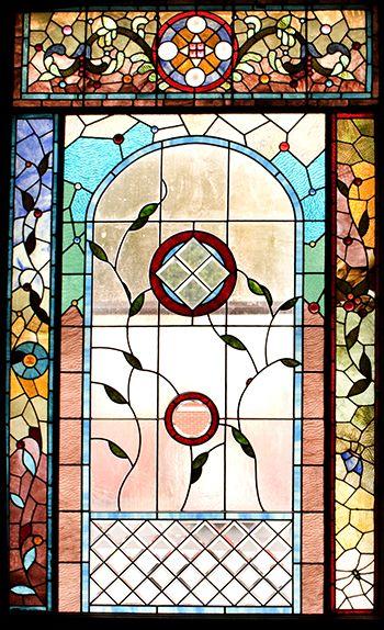 art glass windows - Google Search