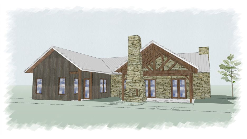 Timber Frame Floor Plan | The Carlisle | Texas Cottage | Pinterest ...