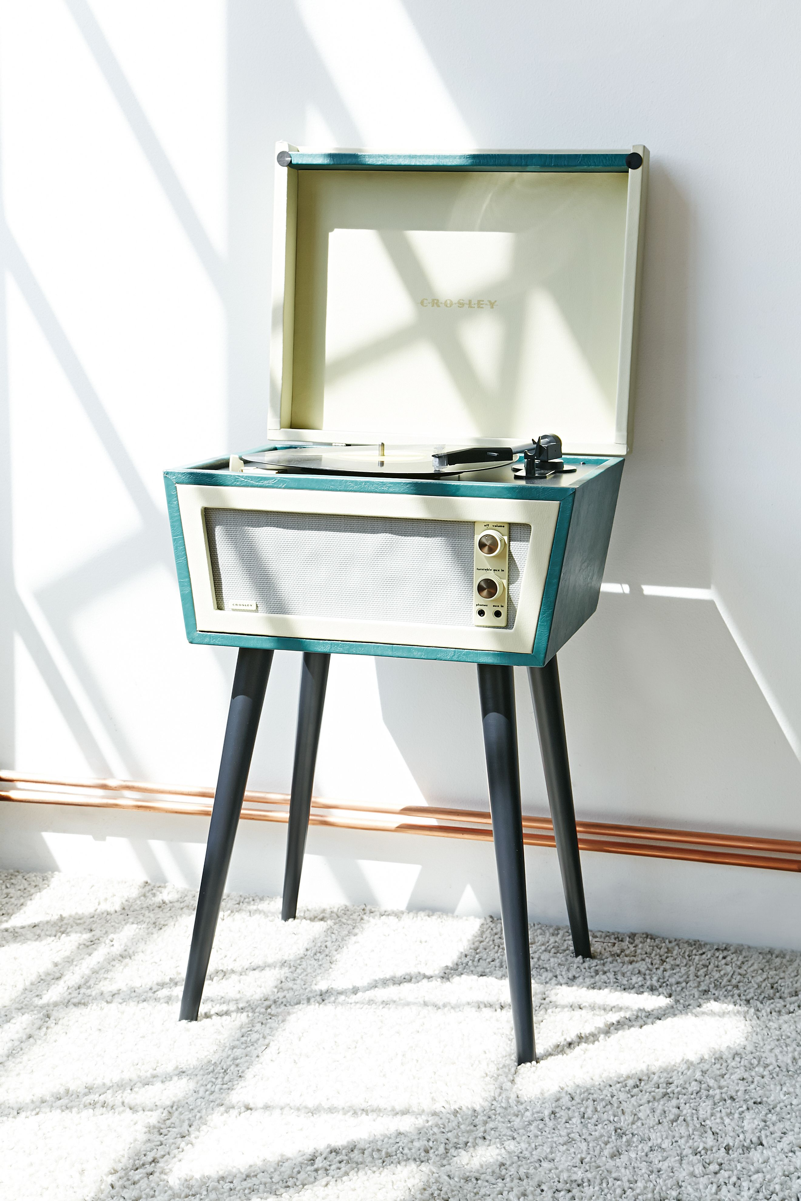 medium resolution of crosley dansette bermuda usb vinyl record player