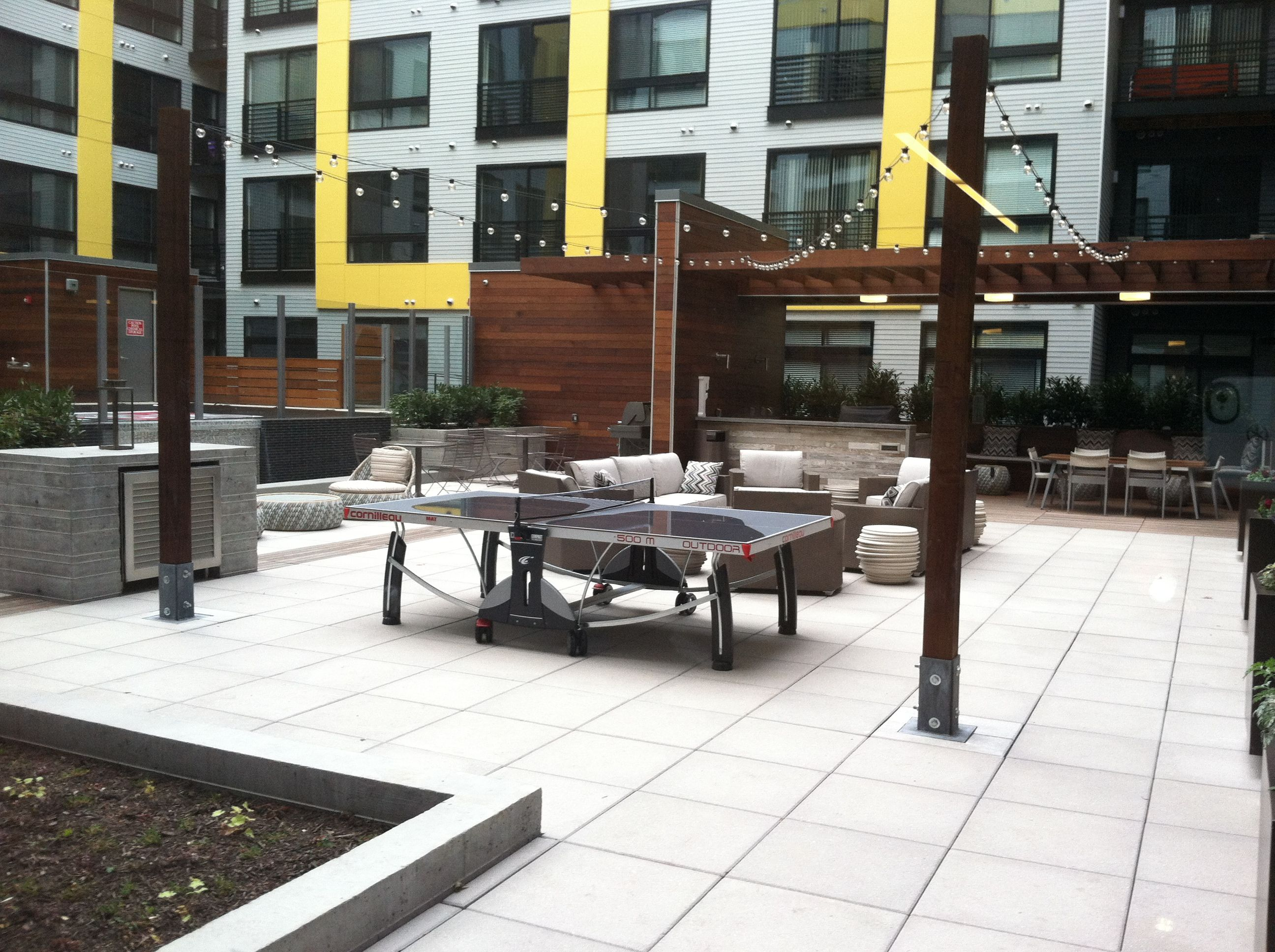Fenwick Install Urban Courtyards Multifamily Housing Architecture