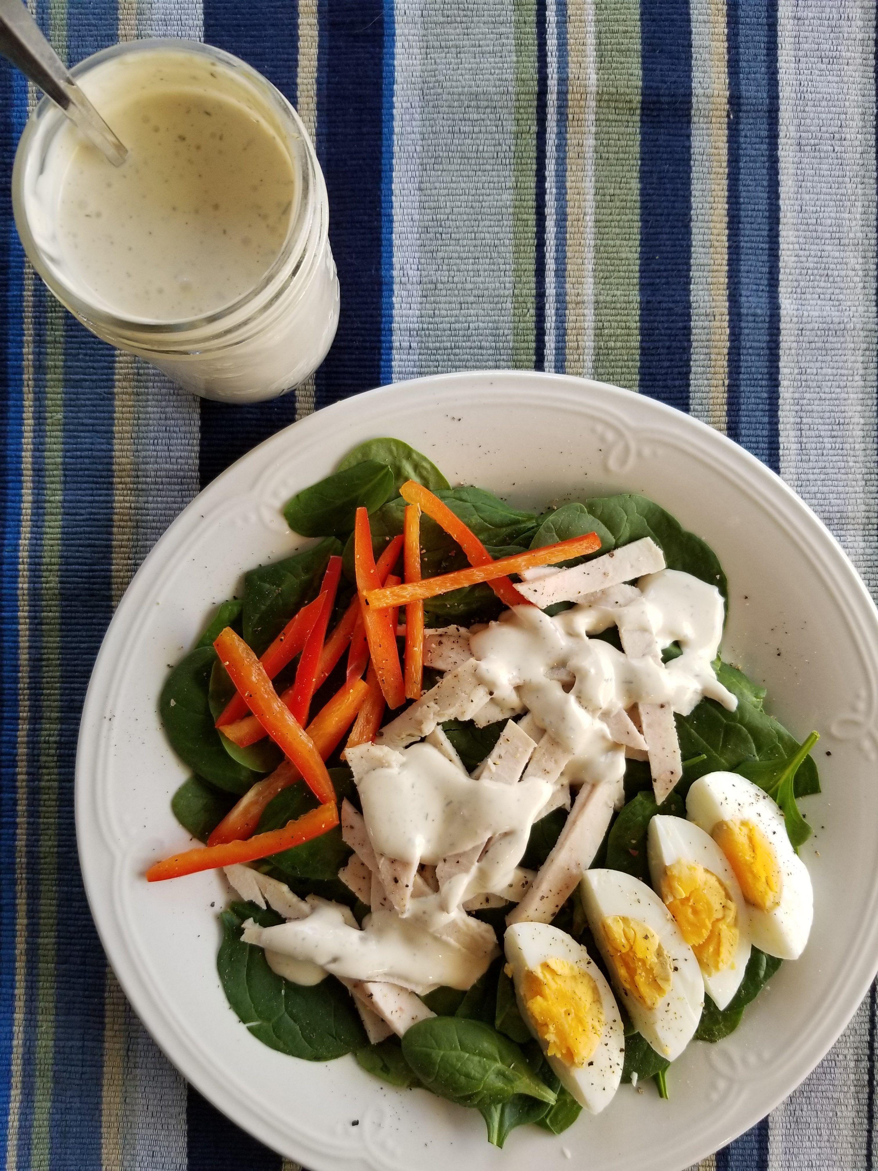 Boursin ranch salad dressing recipe salad dressing