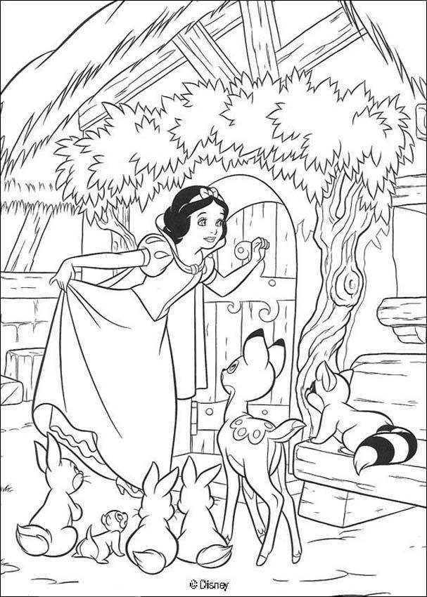 Coloring Page About Snow White Disney Movie Drawing Of Rhpinterestcouk: Dwarf House Coloring Pages At Baymontmadison.com