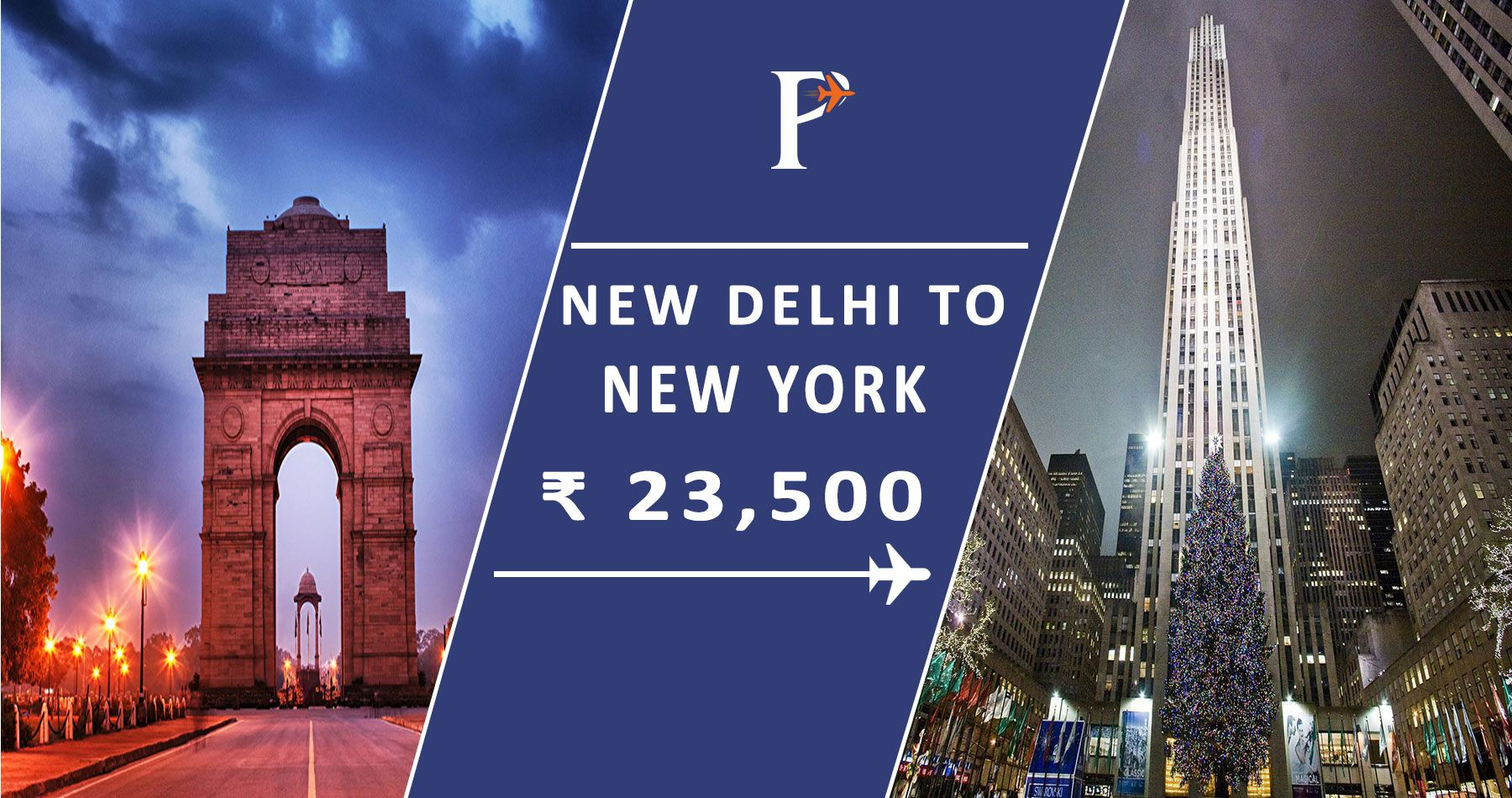 Book Delhi to New_York flights at lowest_airfare on