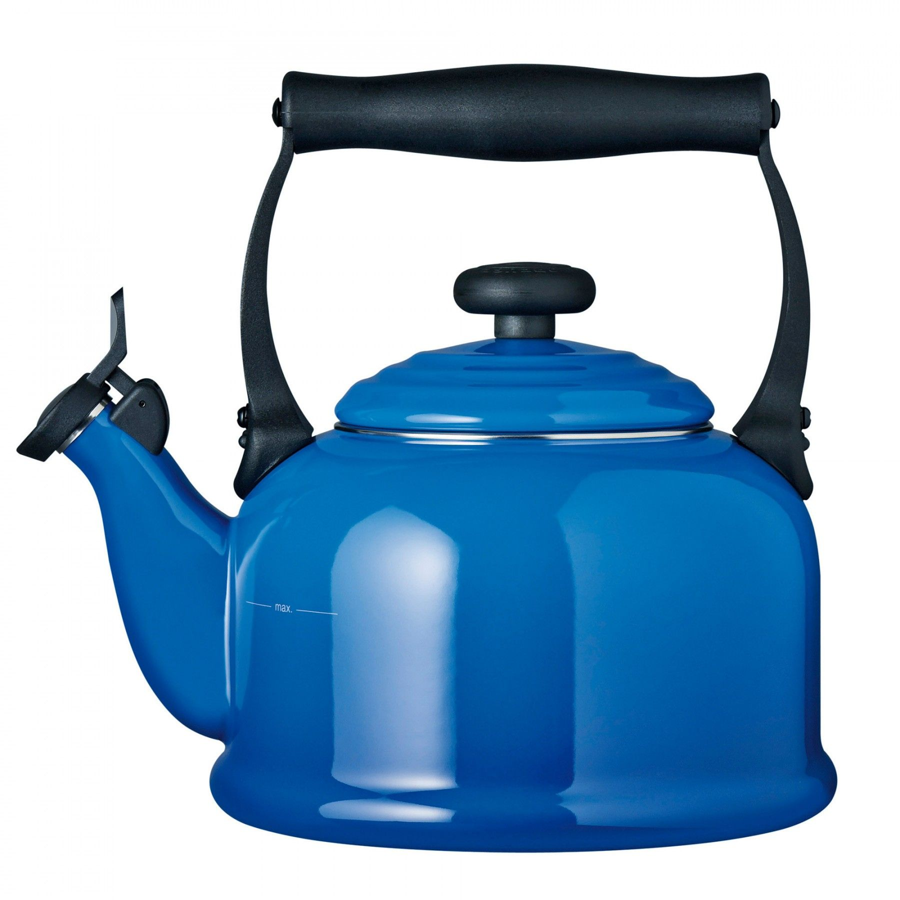 Traditional Kettle Marseille Blue Kettle, Le creuset