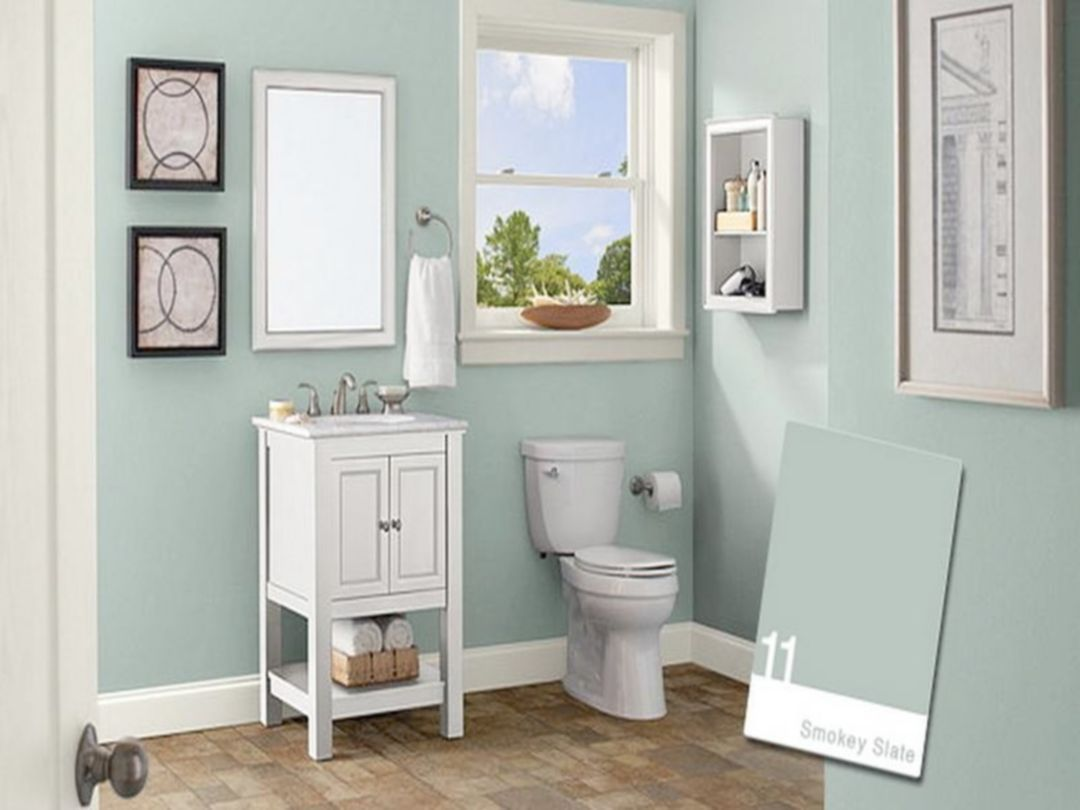 25 most beautiful small bathroom colors scheme ideas on interior paint scheme ideas id=67990