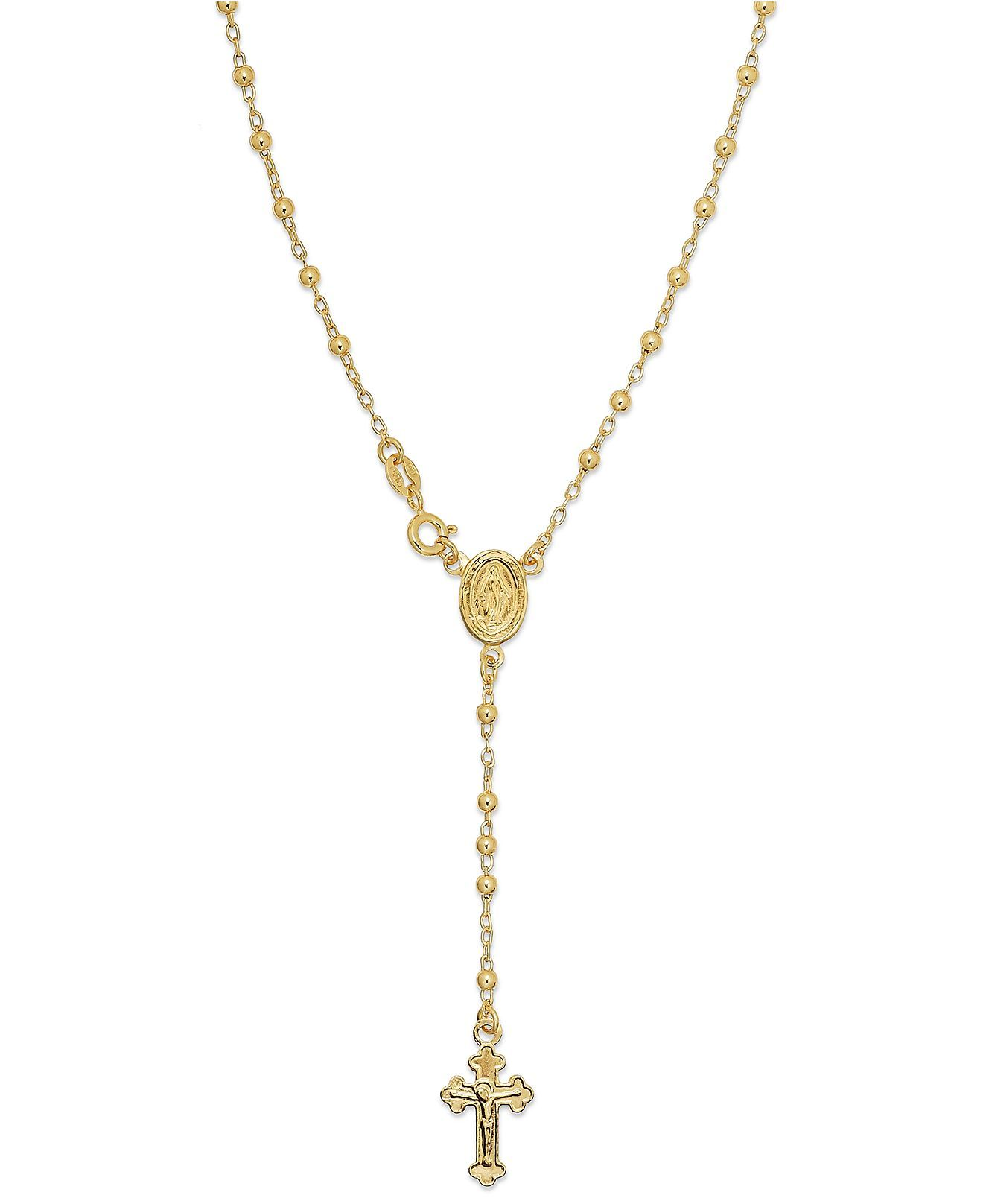 giani bernini 24k gold sterling silver necklace
