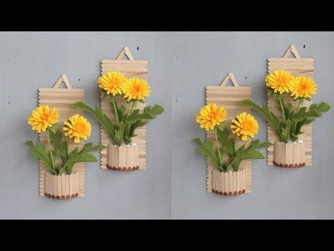 Photo of popsicle stick crafts / creative ideas / wall decoration – Popsicle Stick Crafts House