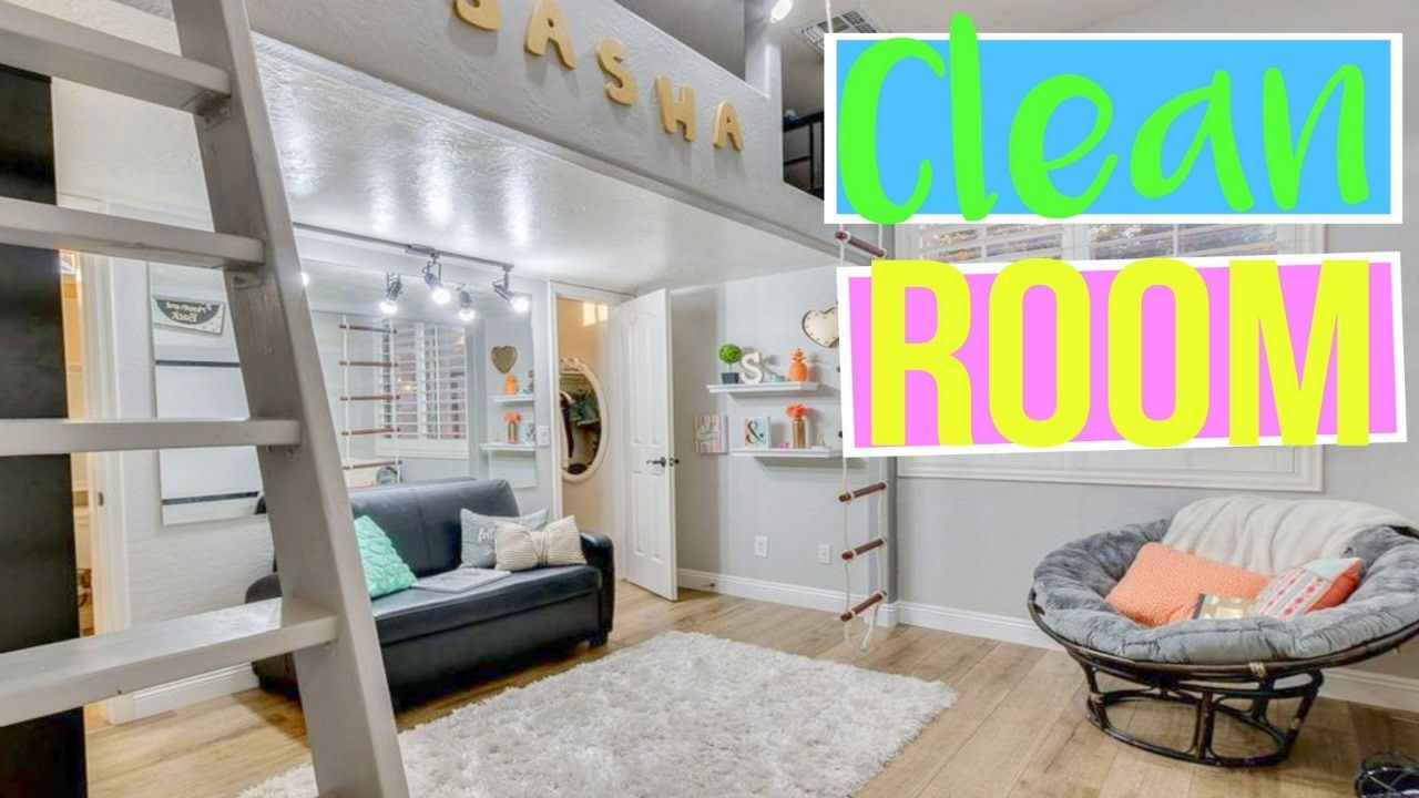 sasha's bedroom loft How to Keep Your Room Clean and